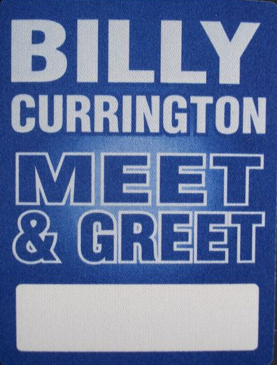 billy currington meet and greet passes