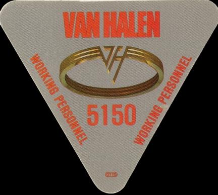 5150 van halen. Van Halen $15.00